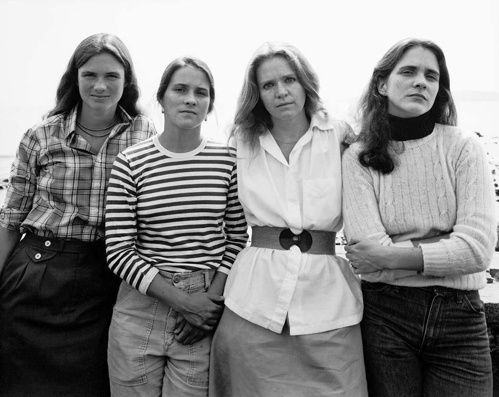 5-Brown-Sisters-Marblehead-MA-1979