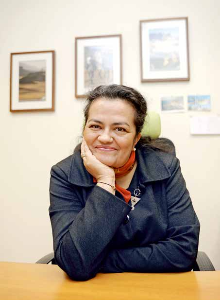 Nassera Benmarnia : liberté, égalité, familles